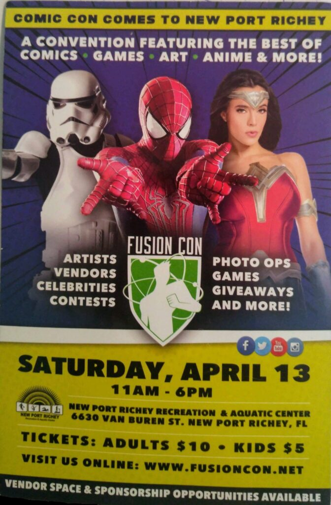 The Avengers were not at Fusion Con