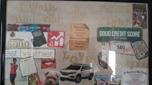 Vision Boards for self-improvement