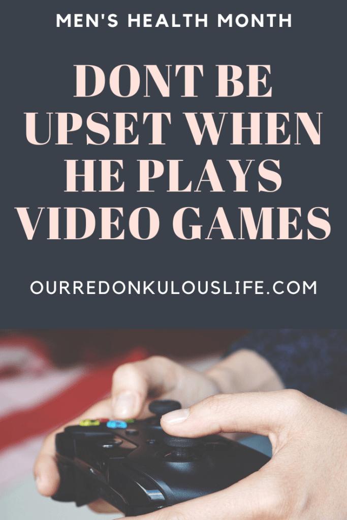 video games mens mental health