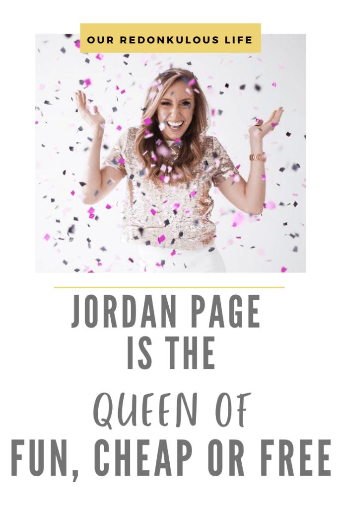 Jordan Page Fun, Cheap or Free