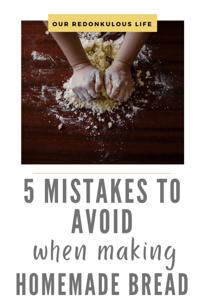 5 mistakes to avoid when making homemade bread
