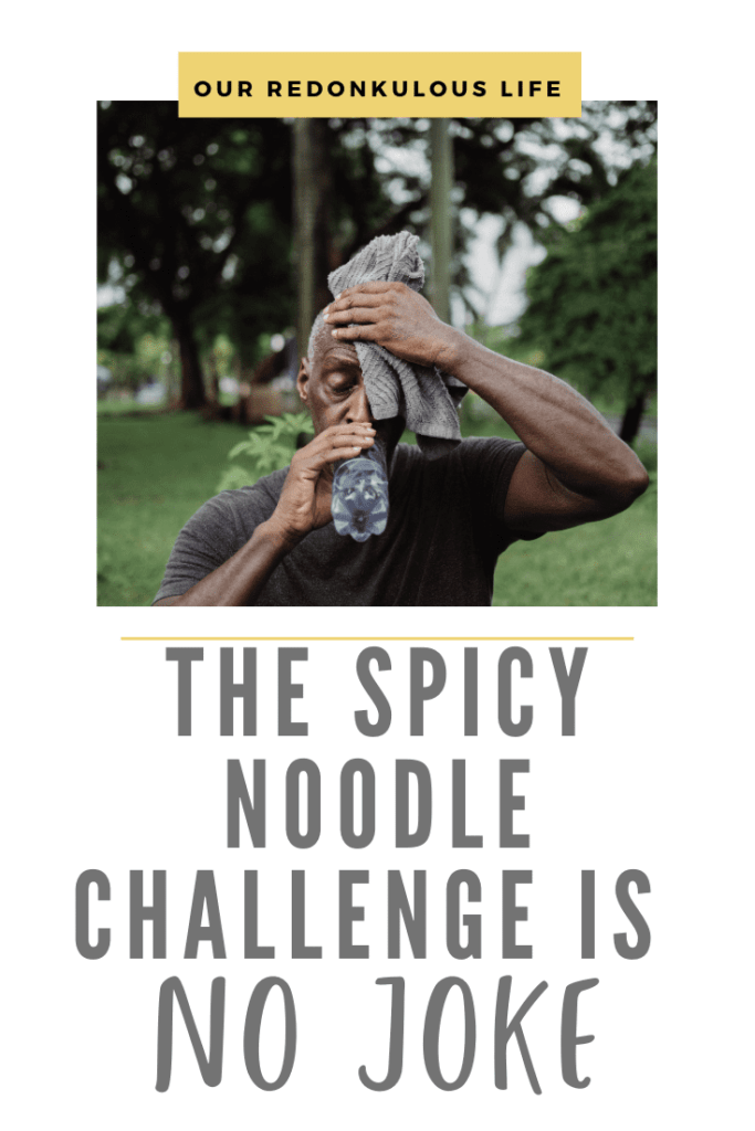 Spicy Noodle Challenge