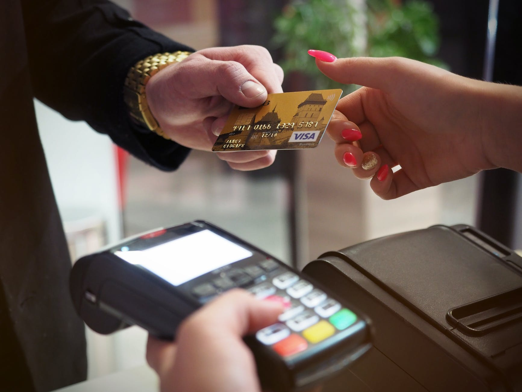 photo of person handing card express gratitude to others