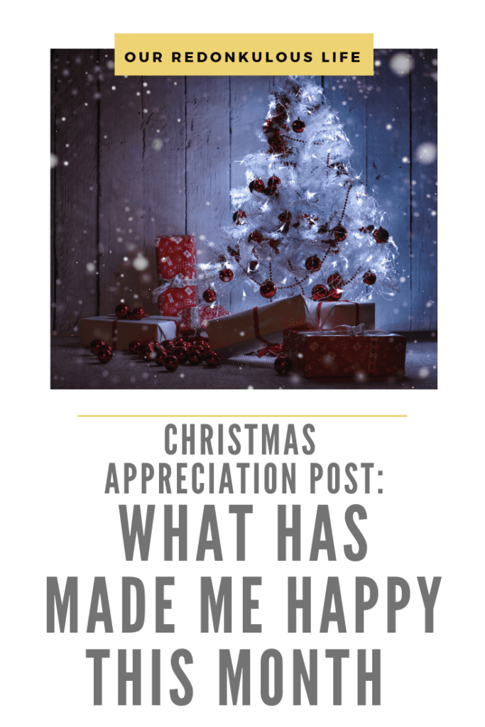 Christmas Appreciation