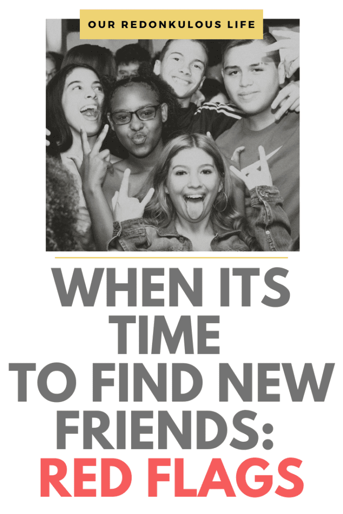 it's time to find new friends